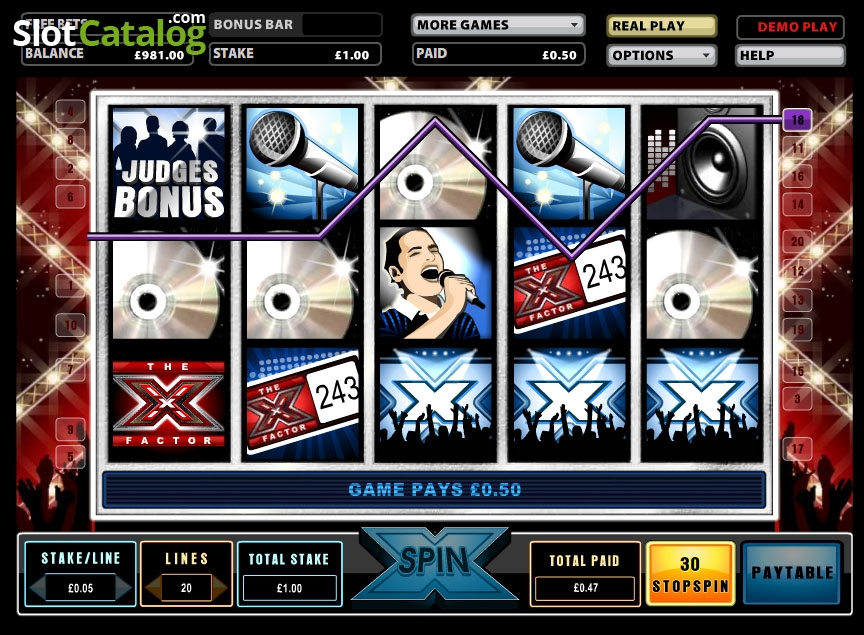 The X Factor Slot Review